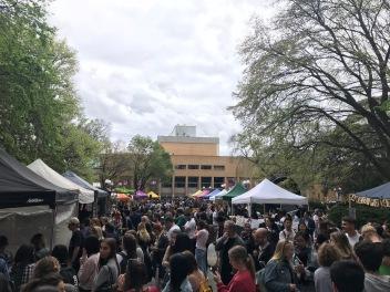 Farmers Market på Universitetet