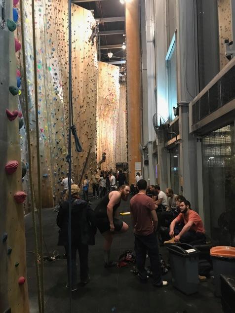 Hardrock klättring