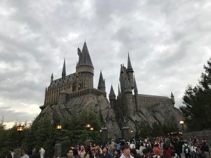 Harry potter riden var inne i slottet
