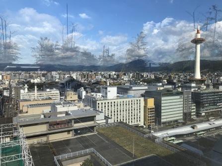 Utskiten från Kyoto central station