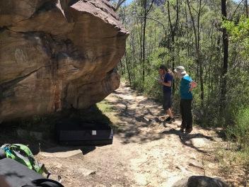 Vi hittade stenen