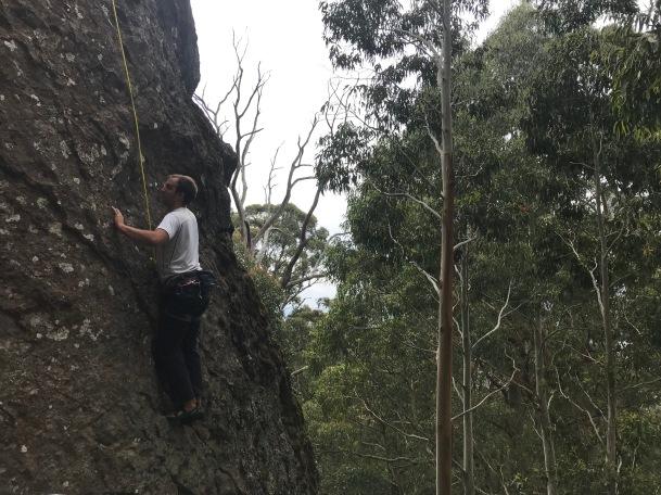 Jag klättra också!