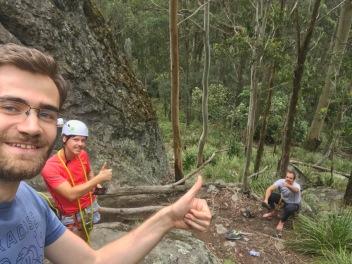 Klara med klättringen