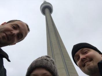 CN tower andra dagen