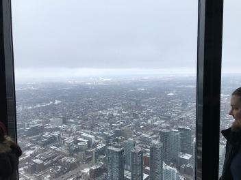 Toronto från höga höjder