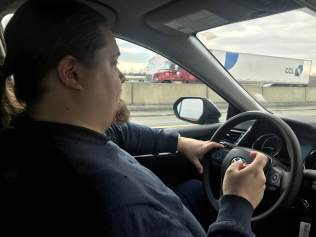 köra bil