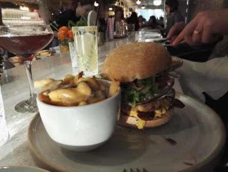Veganrestaurang #2, hamburgare :)