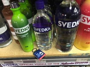 """Hitta även """"svensk"""" vodka"""